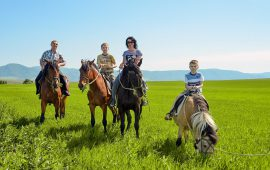 Конные прогулки в горах